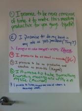 Discussion promises
